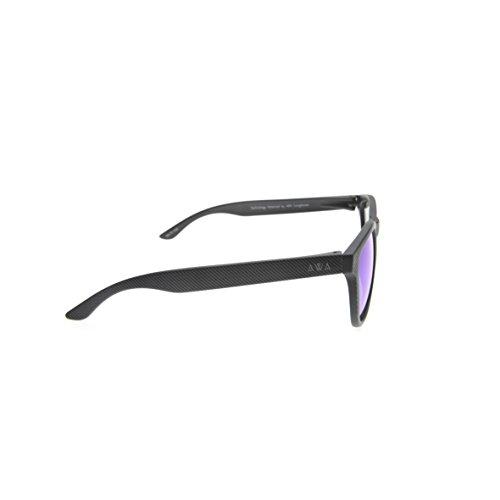 3 cat gafas amp; Negro flotan que uv400 sol las hidrófobas de Rayas Rodas ultraligeras antiarañazos polarizadas Gafas BgTqSPwn7x