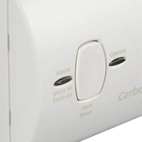Kidde KN-COB-B-LPM Battery Operated Carbon Monoxide Alarm, 2-Pack