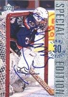 Autographed Special Card Edition (Tommy Soderstrom New York Islanders 1996 Upper Deck Special Edition Autographed Card. This item comes with a certificate of authenticity from Autograph-Sports. Autographed)