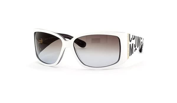 8fbc2d27fc0 Amazon.com  Marc By Marc Jacobs MMJ 008 S Sunglasses Sun Glass Unisex Shild  Frames FREE SHIPPING  Clothing