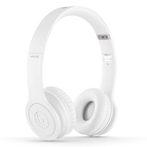 Beats Solo HD Wired On-Ear Headphone - Matte White (Discontinued by Manufacturer)