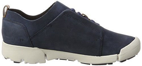 Clarks Damen Tri Bella Sneaker Blau (Navy Combi)