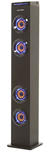 art-sound-ar1004-bluetooth-tower-speaker-with-lights-floorstanding-tower-for-tv-home-theater-streami
