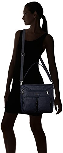 Kipling bolsos de Tasmo Shoppers Negro hombro Mujer Shimmer Basket y rwCrv