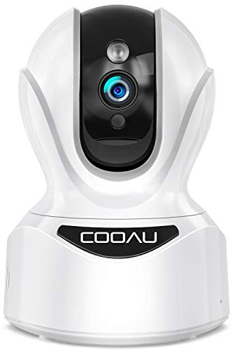 Ultra HD 4MP Wireless Security Camera, COOAU WiFi Home Indoor IP Cameras for Pets/Dogs/Nanny/Baby, PTZ, Sound Detection, Motion Tracking and Alert, 2-Way Audio, Works with Alexa, Cloud/SD Storage