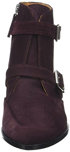 Emma Go Mercury, Stivali Donna Rouge (Velour Bordo)