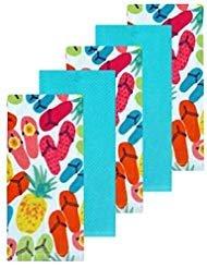 (Celebrate Summer Together Flip-Flop Kitchen Towel 5-pack)