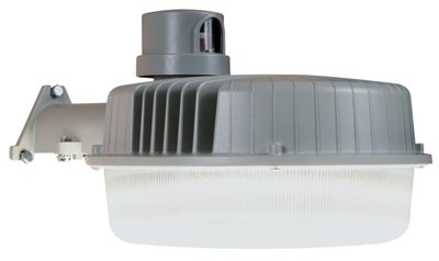 All-Pro AL2050LPCGY, LED Area and Wall Security Light With Replaceable Photo Control, Gray