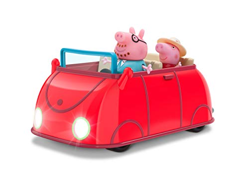 Peppa Pig Lights & Sounds Family Fun Car -