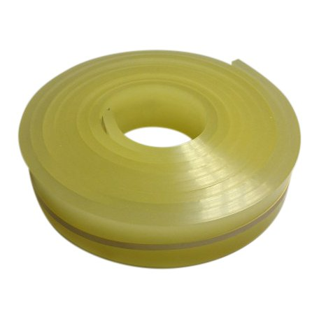 6 Ft/feet Roll - 70 Duro Durometer - Silk Screen Printing Squeegee Blade yellow by Manufacturer's outlet