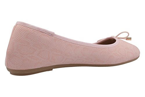 Bailarinas de Footwear Rosa rosa Fitters para Material Sintético mujer P7nwvRx