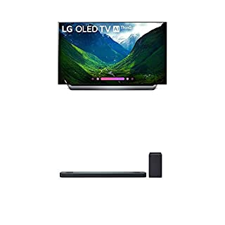 LG Electronics OLED55C8PUA 55-Inch 4K Ultra HD Smart OLED TV (2018 Model) Bundle with LG SK9Y 5.1.2 ch High Res Audio Sound Bar with Dolby Atmos (2018) (B07KRDHCLY) | Amazon price tracker / tracking, Amazon price history charts, Amazon price watches, Amazon price drop alerts