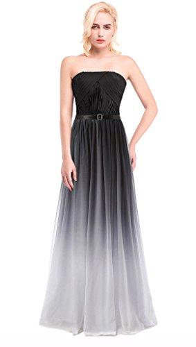 Damen Drasawee Balck White4 Kleid Beige Column drfwq7fY