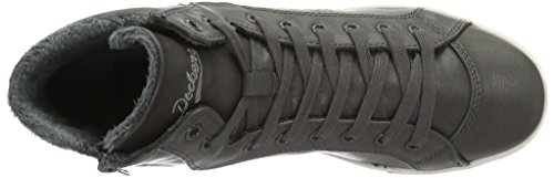 Dockers 27CH323 - zapatilla deportiva de material sintético mujer Gris (grau 200)