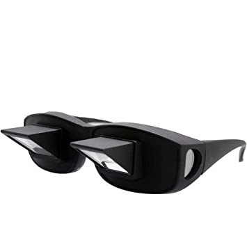 dd8b44fe23b3 Horizontal Lazy Glasses Lying Down Bed Reading Watching High Definition  Prism Glasses Prism Eye Glasses or