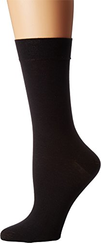Falke Women's Sensual Cashmere Sock, Black, 35-38