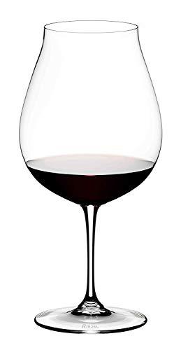 Adelsheim Pinot Noir - Riedel 6416/16 Vinum Pinot Noir Glass, Set of 2, Clear