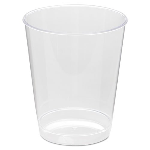 (WNA Comet Plastic Tumbler, 8 oz., Clear, Tall, 25/Pack - 20 packs of 25 cups. 500 per case. )