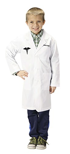 Aeromax 3/4 Length Jr. Doctor Lab Coat, Size 2/3, White