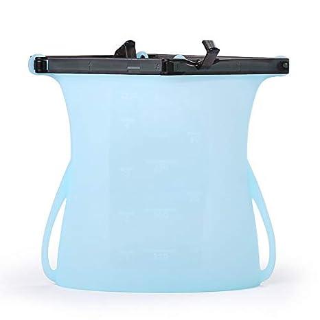 Bolsas de silicona reutilizables, Bolsas de almacenamiento ...