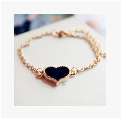 Nobility not expensive trinkets bracelet peach heart love Clover Bracelet jewelry bracelet Clover female shopkeeper strongly recommend (Trinket Keeper)