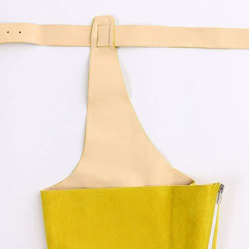 De Alta 10cm Botines Botas Slim Caña Tacón Luckygirls Muslo Botitas Baile Amarillo Pasarela Mujer Para Tirantes Zapatos 6ZEwxTnx