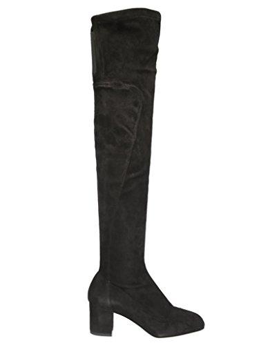 Camoscio Stivali Gabbana E Cu0302ac70080999 Nero Dolce Donna ETOwxHXqnq