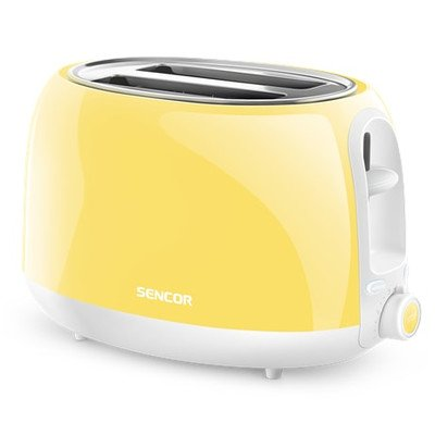 Sencor STS36YL-NAA1 Electric Toaster, Pastel Yellow