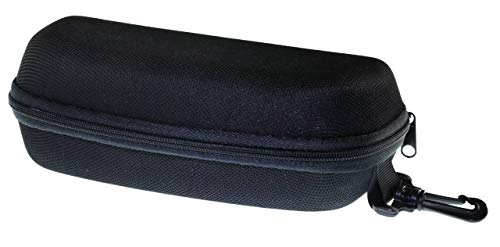 ETP and LensCovers Sunglasses Hard Case for Extra Small, Small, Medium Large Slim and Large Size Frames