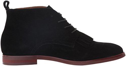 kensie Women's Levy Ankle Bootie Black Suede rv5tC7D