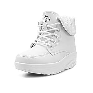 Baskets Mode Femme Chaussures de Multisports Outdoor Femme Chaussures de Running sur Route Hiver Chaussures de Sports…