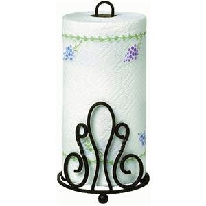 "Patrice Paper Towel Holder (Bronze) (13""H x 6.5""W x 6.5""D)"