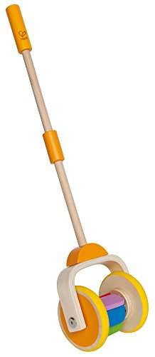 Award Winning Hape Rainbow Wooden Push and Pull Toddler Walking Toy