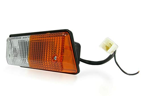 flexzon Rh right front side indicator headlamp light lamp for tractor excavator digger: