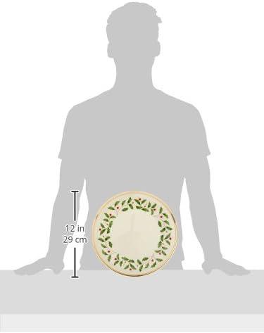 Amazon.com: Vajilla de día festivo, Conjunto de 6 platos ...