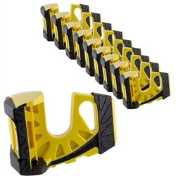 10-Pack Wedge-It Ultimate Door Stop - Yellow by Wedge-It