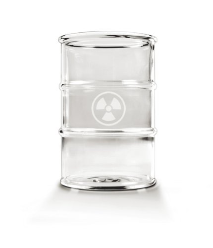 Fred POLLUTED Set of 2 Glasses, 12-Ounce