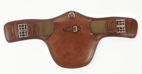 UPC 841095554357, Ovation Bellyguard Monoflap Girth - Medium Brown 28