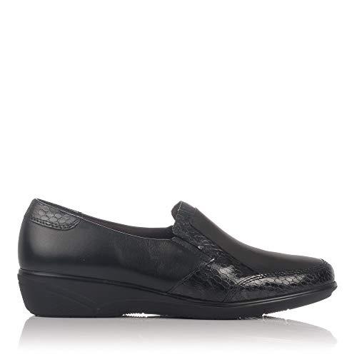Flats Black Women's 5202 PITILLOS Loafer 8ZX4v81