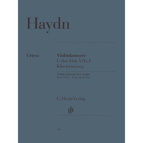 Haydn Franz Joseph Concerto No1 in C Major Hob VIIa1 Violin and Piano by Gunter Thomas Henle Verlag