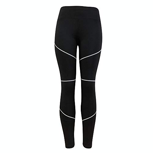30969fd81de5b9 POHOK 2019 Anti-Cellulite Compression Leggings Cellulite Oppressing Mesh  Fat Burne(M,Black)