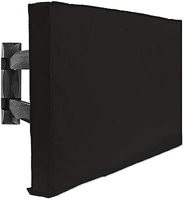 TJTJ - Funda de TV universal para exteriores, compatible con ...