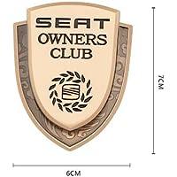 Auto 3D Uiterlijk Sticker FR Metalen Seat Autoraam Embleem 3D Badge Sticker Auto Decoratie Decal Styling Logo Voor Ibiza…