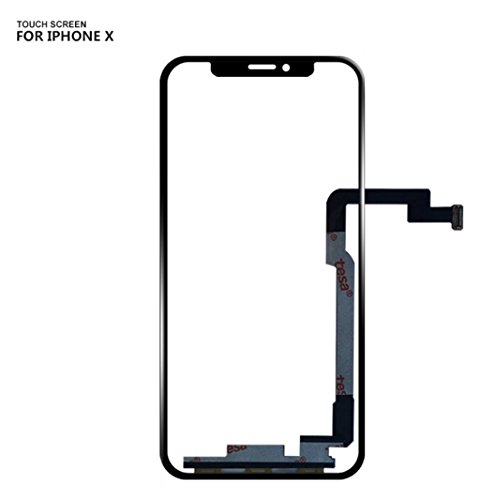 for iPhone X 10 Front Touch Screen Glass Touch Panel Digitizer (NO LCD Display) Front Glass Outer Screen Glass Lens Replacement