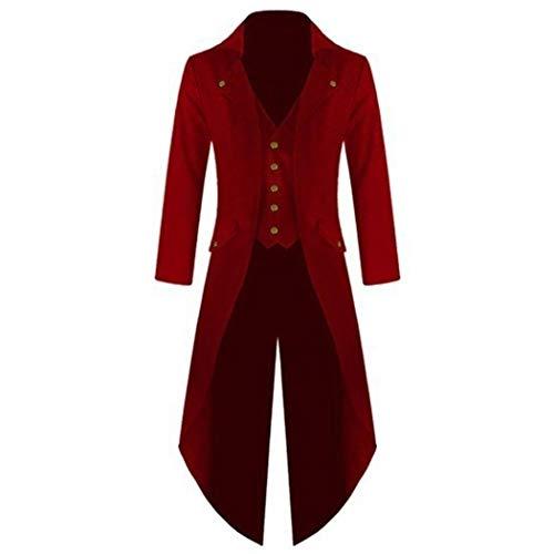 Solide Hommes Collier Smoking Rouge Vin Mode Vestes down Nouveaux Partie Skipo De Turn Costume Mariage pSv4pa