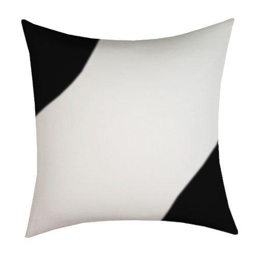 Sublimación imprimible funda de almohada de seda negro y ...