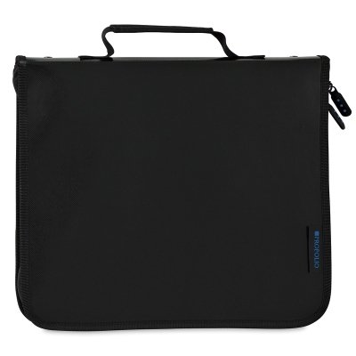Art Profolio Black Refill - ProFolio by Itoya, Zipper Binder,  Includes 5 Polyglass Pocket Pages - 18 x 24 Inches