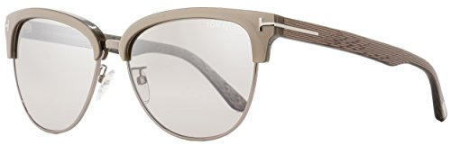 TOM FORD FT0368 Fany 57G - shiny beige / brown mirror Plastic