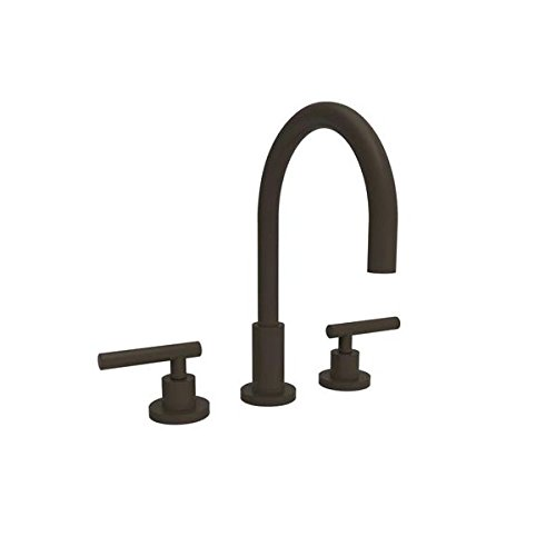 [Newport Brass 990L East Linear Double Handle Widespread Lavatory Faucet with Met, Oil Rubbed Bronze] (Bronze 990 Double Handle)