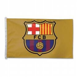 La Liga FC Barcelona Soccer Traditional Flag by NEOPlex